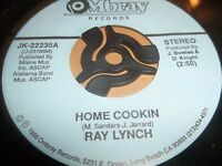 "RAY LYNCH "" HOME COOKIN "" 7"" SINGLE 1988 EXCELLENT JK-22235"