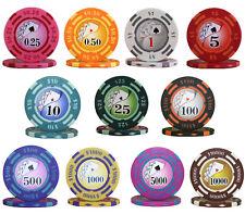 500pcs 14G YIN YANG CASINO POKER CHIPS BULK - Choose Denominations