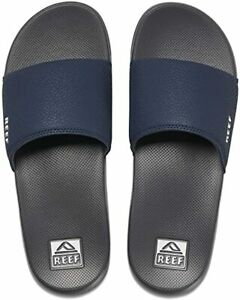 Man Reef One Slide Sandal CI5862 Color Navy/White 100% Original Brand New