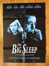 Big Sleep (Kinoplakat ´85) - Humphrey Bogart / Lauren Bacall