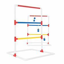 Ladder Toss Outdoor Game with 6 Bolas Carrying Case Backyard Lightweight PVC