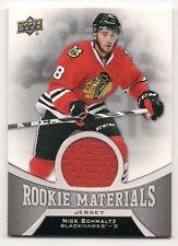 Nick Schmaltz 16-17 Upper Deck 2 Rookie Materials Game Jersey