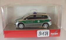 Herpa 1/87 Nr. 090104 VW Touran Polizei OVP #9174