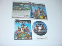 Sid Meier's CIVILIZATION REVOLUTION game complete w/ manual - PLAYSTATION 3 PS3