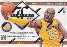 2012-13 Panini Limited Basketball Hobby Box
