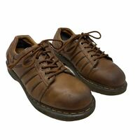 Dr. Martens Brown Vintage AW004 Air Cushion Men's Low Top Oxford Sz 8