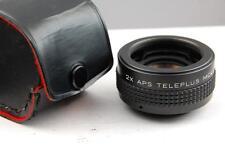 Teleplus 2x teleconverter, MC4, Pentax M42 screw fitting, mint condition & case