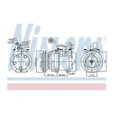 Fits Ford Ranger 3.0 TDCi 4x4 Genuine OE Quality Nissens A/C Air Con Compressor