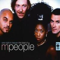 M People : One Night in Heaven: The Best Of CD 2 discs (2007) ***NEW***