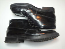 Black Leather Dress Ankle Boots  Mens Size 9 M 4 Eye Casual Friday
