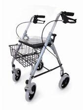 Drive SR8 Folding Rollator Wheeled Walking Frame 4 Wheel Mobility Walker