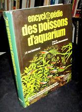 Encyclopédie des Poissons d'Aquarium - J.D.van Ramshorst