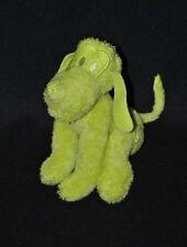 Doudou Peluche chien pluto DISNEY NICOTOY  vert 17 cm assis TTBE
