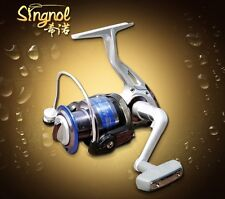 SGC6000 SINGNOL Spinning Fishing Reel 8BB Aluminium Spool Salt/Fresh Water