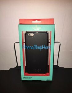 Kate Spade New York Leather Wrapped iPhone 6 Plus /6s Plus - Black Retail $55