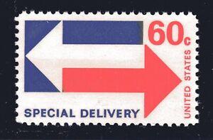 U.S. STAMP #E23 — 60c SPECIAL DELIVERY — SUPERB — MINT GRADED 98