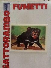 Figurine Animali Del Mondo N.49 Diavolo Di Tasmania Nuova - Anno 69 Ed.Dell'arte