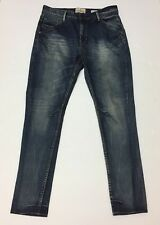 "Shine Original Jeans Anti Fit Tapered Leg Dropped Waist 32"" 34""skinny Like New"