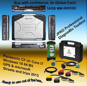 Panasonic ToughBook CF-31 i7 2.8 16GB 480GB SSD WIN 10 64 BIT+ JPRO Professional