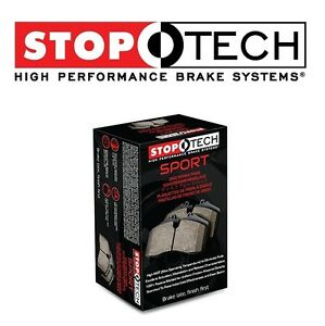 For Porsche Boxter S 911 Carrera Front Brake Pads Set StopTech Sport 30909170