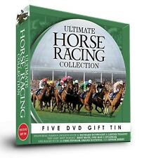 Ultimate Horse Racing Collection 5 DVD Gift Tin Set Classic Piggott Dunwoody