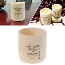 1xBamboo Wooden Drinking Cup Coffee Tea Mug Breakfast Beer Milk Wine Glass