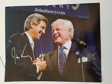 SENATOR JOHN KERRY SIGNED 8X10 PHOTO AUTOGRAPH SECRETARY OF STATE @
