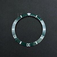 Green and White Ceramic Bezel Insert to fits for Rolex Submarine 116610LV