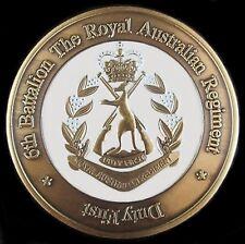 6 RAR ROYAL AUSTRALIAN REGIMENT INFANTRY UNIT COIN * AFGHANISTAN * IRAQ *   -01