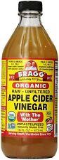 Bragg Apple Cider Vinegar With Mother 16 fl oz Raw Unfiltered