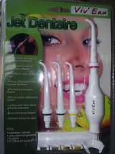 1 Jet dentaire sans branchement électrique- économies_ Viv'eau_ dental jet