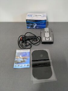 E8 360 Degree, 16 Band Car Radar Detector, Tested and Working