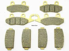 Front Rear Brake Pads For CF MOTO CF 600 Z-Force Z6-EX Side x Side 2013-2015