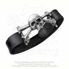 Punk Unisex Modeschmuck-Armbänder aus Leder