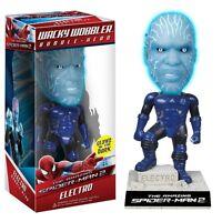 FUNKO WACKY WOBBLER THE AMAZING SPIDER MAN 2 ELECTRO BOBBLE HEAD FIGURE NEW!!