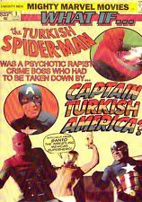 TURKISH CAPTAIN AMERICA VS SPIDER-MAN DVD with the help from SANTO Mexican wrest