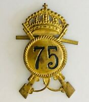 1975 United States Infantry Rifle Authentic Military Pin Badge Rare Vintage (N9)