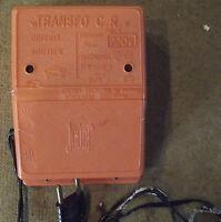 ANCIEN TRANSFO CR JOUEF, CIRCUIT ROUTIER T40/E