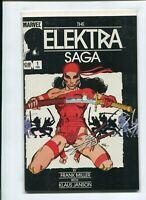 The Elektra Saga 💥 VF  (1984 Marvel) #1-4 🔑 Frank Miller Complete Story!
