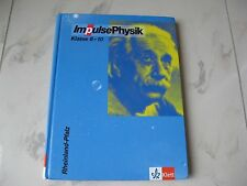 Impulse Physik Klasse 8-10, ISBN 978-3-12-772484-4