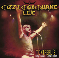 OZZY OSBOURNE-LIVE MONTREAL '81 KING BISCUIT...-IMPORT CD WITH JAPAN OBI F08