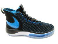 Nike Men's AlphaDunk Basketball Shoes Black White Photo Blue Size 11.5