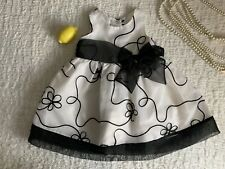 Rare editions,18 months, Black And White Dress, Girl