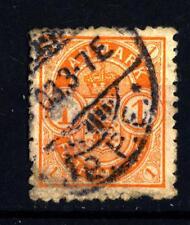 DENMARK - DANIMARCA - 1901-1902 - Stemma in ovale