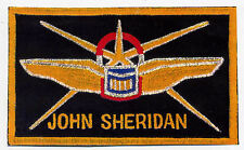 B5 Babylon 5 Pilots Wings w/Name -ie John Sheridan - [or .Your Name & Rank]