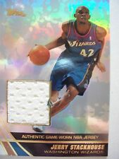 2004 TOPPS BASKETBALL GAME JERSEY JERRY STACKHOUSE WIZARDS  JE-JS   B54