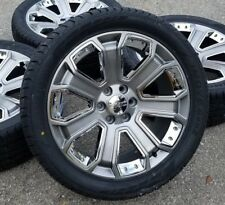2017 GMC Yukon Denali Sierra 1500 Chevy Silverado Tahoe Wheels Rims Tires CK190