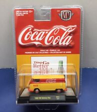 1960 VW DELIVERY VAN COCA-COLA COKE M2 MACHINES RED 1/7200 YR01 18-27.