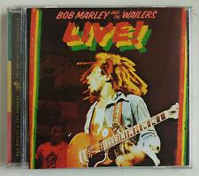 Bob Marley & The Wailers Live! CD Alemania Remasterizado 2001