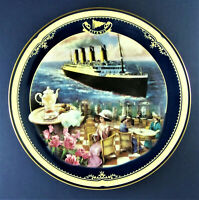 THE CAFE PARISIEN Plate Titanic: Queen of the Ocean #5 James Griffin Bradford